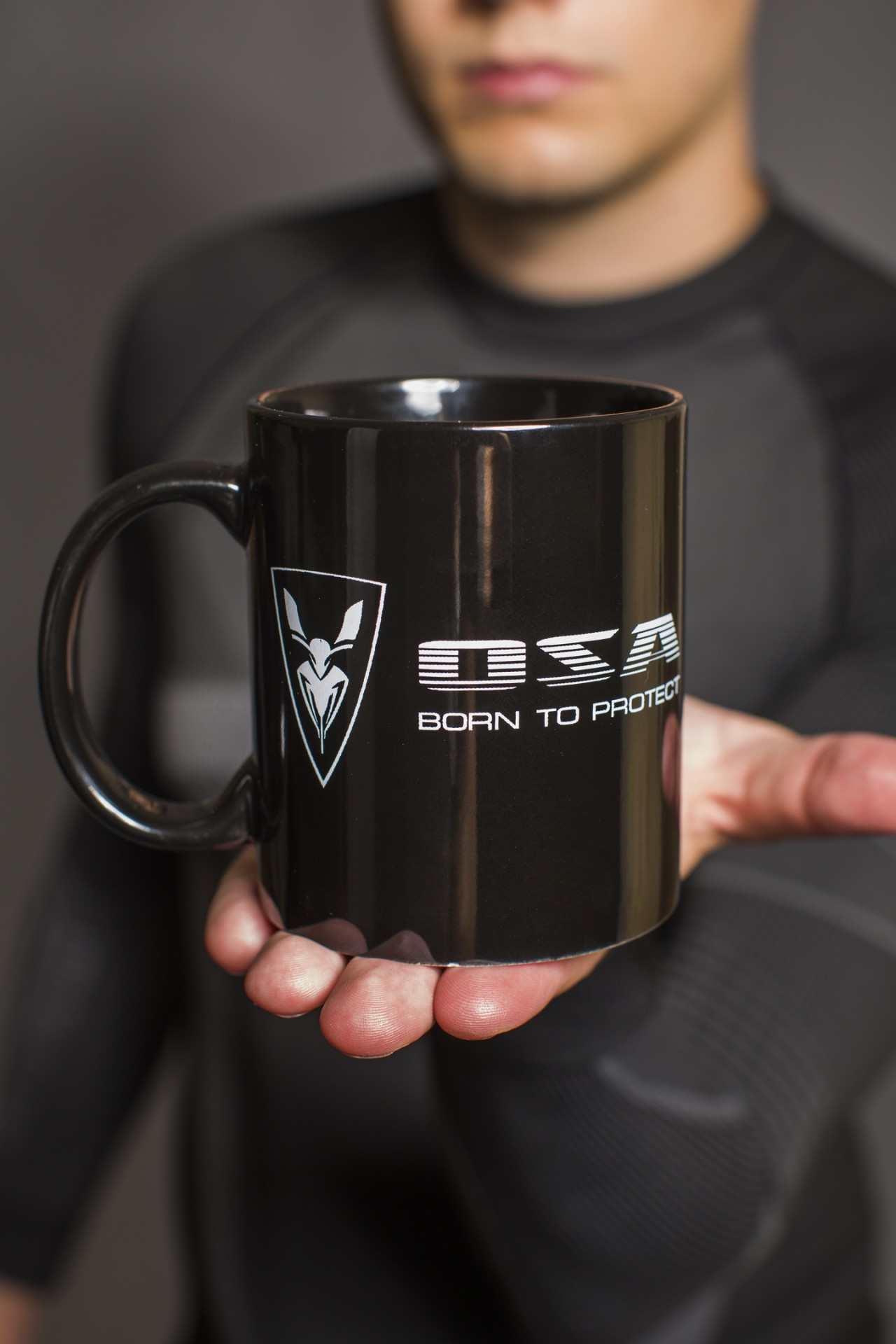 Black cup OSA Born to protect